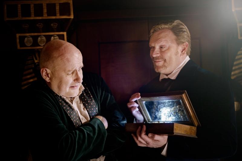 Abel Trelawny und Dr. Winchester
