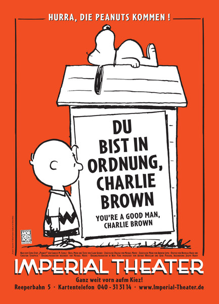 Du bist in Ordnung Charlie Brown