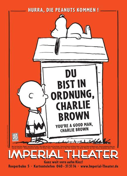 Du bist in Ordnung Charlie Brown