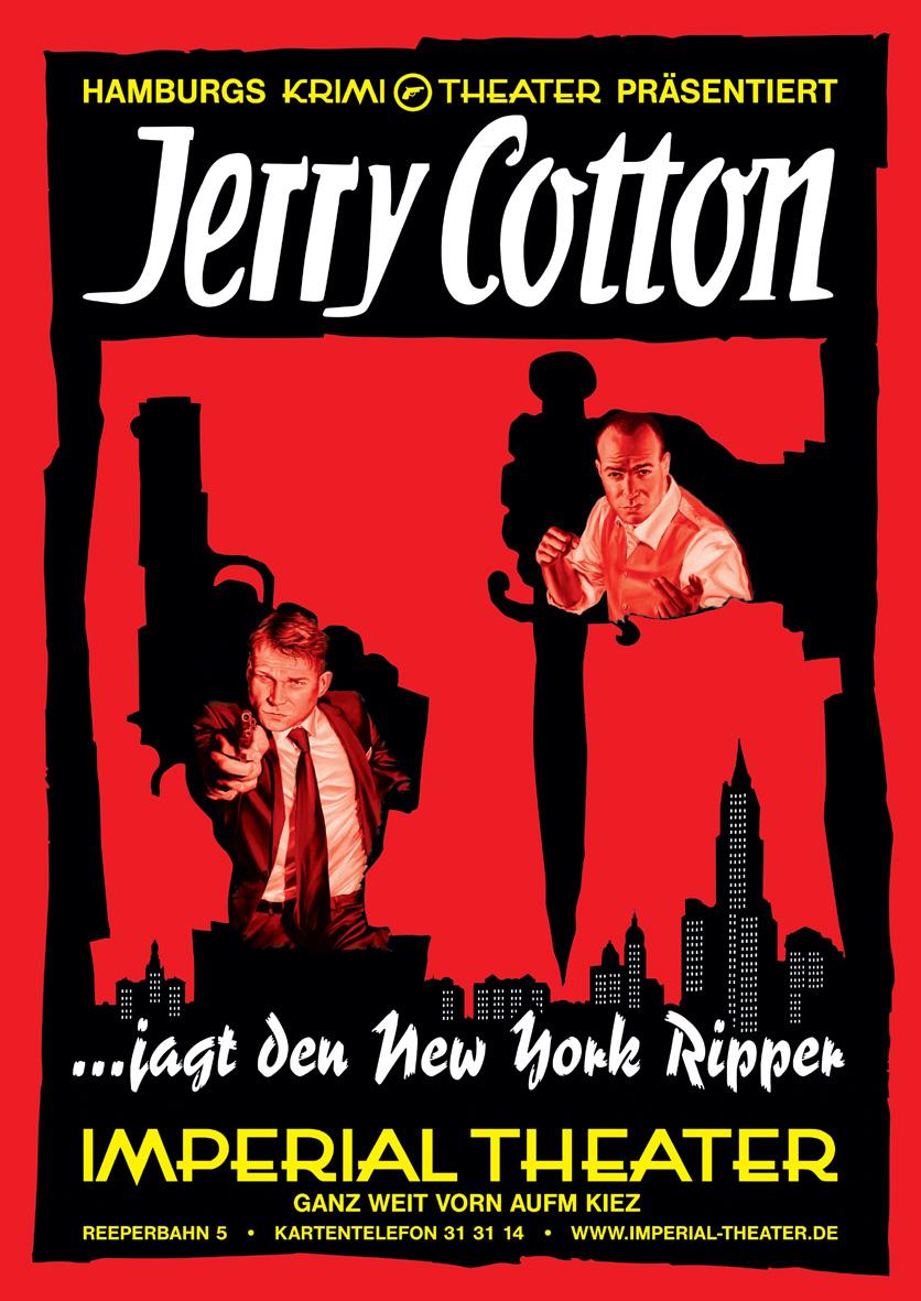 Jerry Cotton jagt den New York Ripper