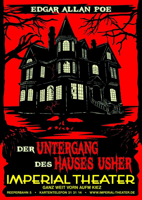 Der Untergang des Hauses Usher  nach Edgar Allan Poe
